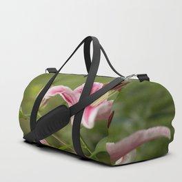 Pink Lily in The Autumn Garden #decor #society6 #buyart Duffle Bag