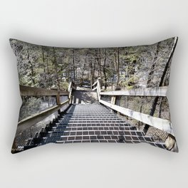 Tahquamenon Stairs Rectangular Pillow