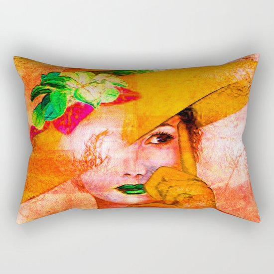 """"""" """" The word is the outside thought, and the thought is the internal word. """" Rectangular Pillow"""