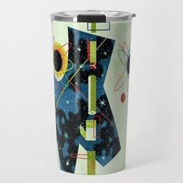 Retro Atomic factory cosmic splender Travel Mug