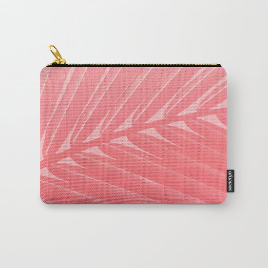 Hot Pink Palm Carry-All Pouch