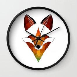 Wild Fox Wall Clock