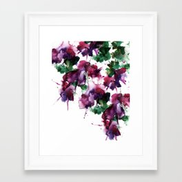Fuchsia Framed Art Print