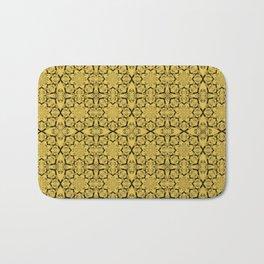 Primrose Yellow Geometric Bath Mat