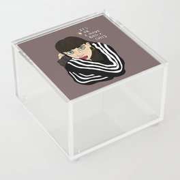 It's ok to have bad days Acrylic Box