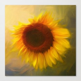 Sunflow Love 2 Canvas Print