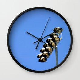 Floodlight Wall Clock