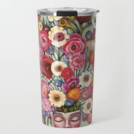 Your thoughts are seeds Travel Mug