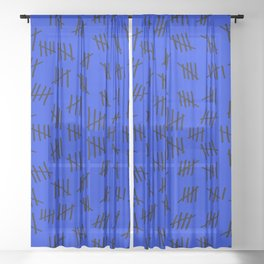 April 23rd (#3) Sheer Curtain