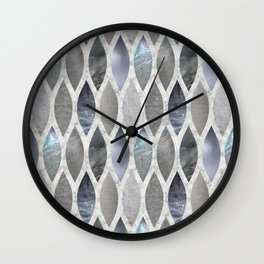 Metallic Armour Wall Clock