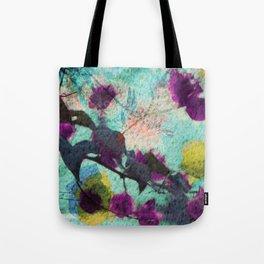 peaceful pastel petals Tote Bag