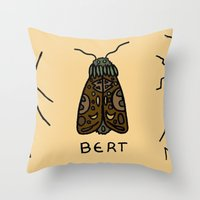 bugs Throw Pillows featuring bugs. by MorningMajor