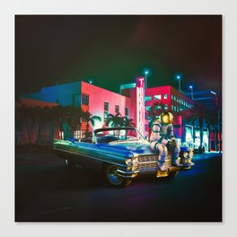 The Night Rider Canvas Print