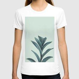 Teal Mint Plant T-shirt