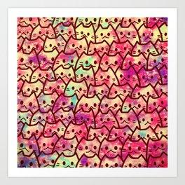 cats 154 Art Print