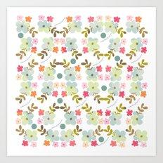 Flowers love Art Print