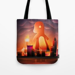 King of monster Tote Bag