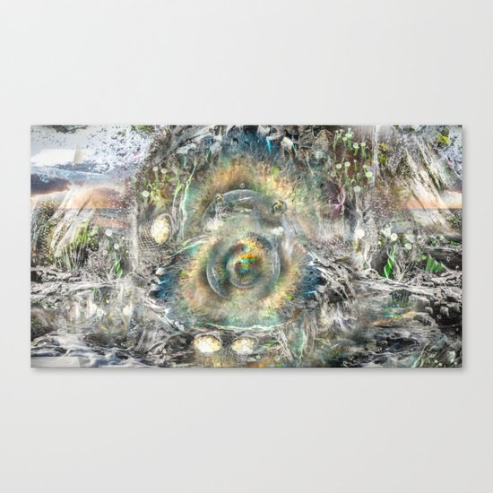 The Well Canvas Print