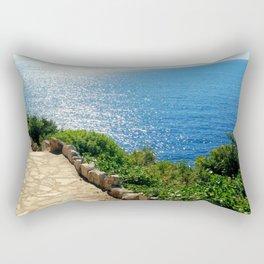 Walk of Life Rectangular Pillow