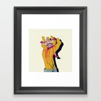 You botched it! You botched it! Framed Art Print