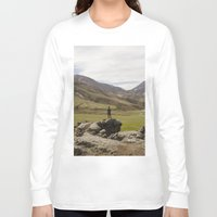 iceland Long Sleeve T-shirts featuring ICELAND I by Gerard Puigmal