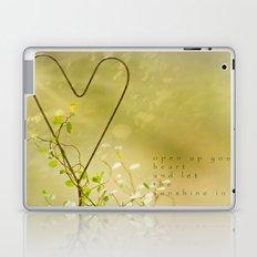 Open Your Heart Laptop & iPad Skin