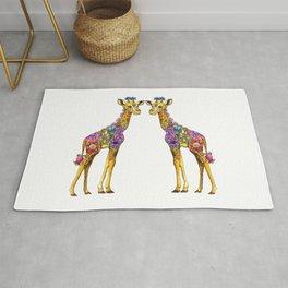 Geraldine the Genuinely Nice Giraffe Rug