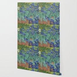 Irises by Vincent van Gogh Wallpaper