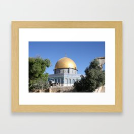 Dome of the Rock Framed Art Print