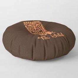 Tiki Hotel Logo Floor Pillow