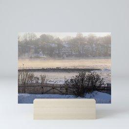 Sea Smoke Sunrise (2) Mini Art Print