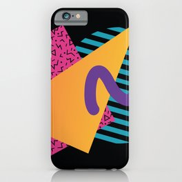 Memphis Pattern 29 / 80s - 90s Retro iPhone Case