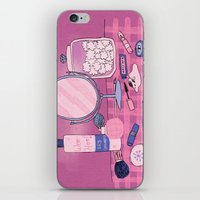 Beauty Products iPhone Skin