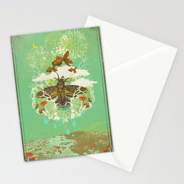EVENING PSYCHEDELIA Stationery Cards