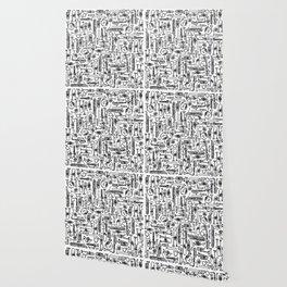 Horns B&W II Wallpaper