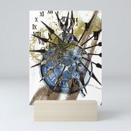 Clock (1) Mini Art Print