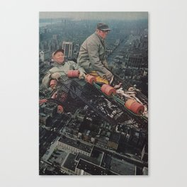Big City Life Canvas Print