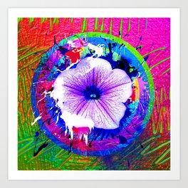 project Flower Art Print
