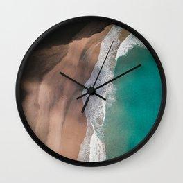 waves #society6 #decor #buyart Wall Clock