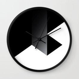 Triangle 3 Wall Clock