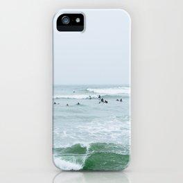 Tiny Surfers Lima, Peru 3 iPhone Case