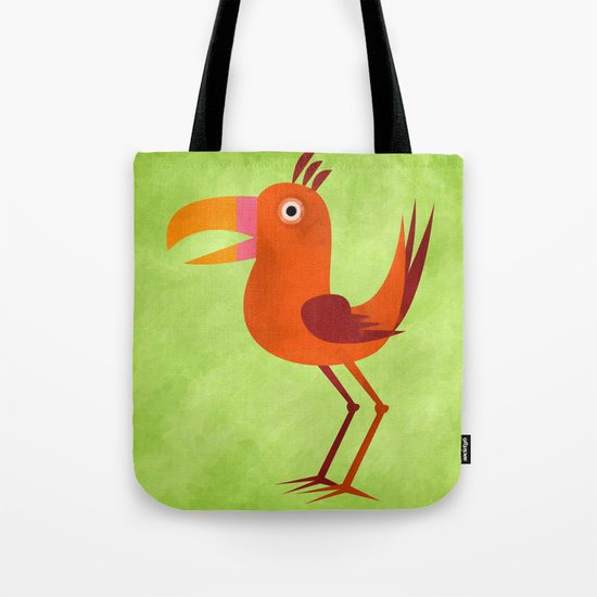 The Tiki Bird Tote Bag