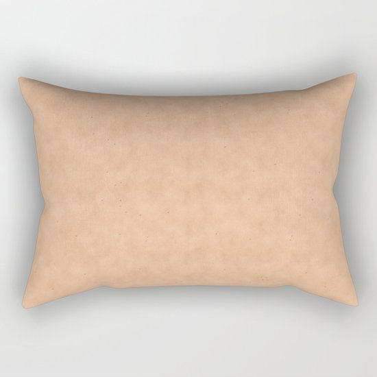 Skin Style Texture With Freckles Rectangular Pillow