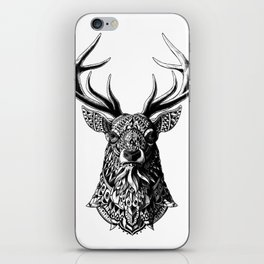 Ornate Buck iPhone Skin