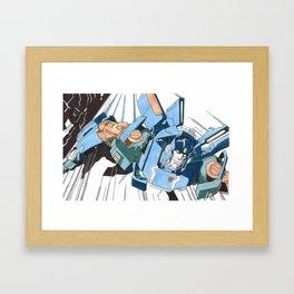 Skids Framed Art Print