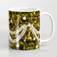 christmas tree Mugs featuring Christmas Tree by Pati Designs