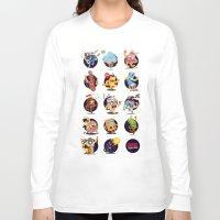 wall clock Long Sleeve T-shirts featuring print for a clock - society6.com/code501/wall-clocks by CODE501