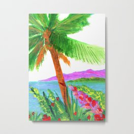 Island Breeze Metal Print