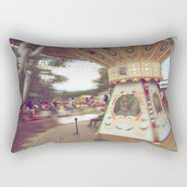 Round We Go  Rectangular Pillow