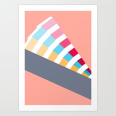 #28 Pantone Swatches Art Print